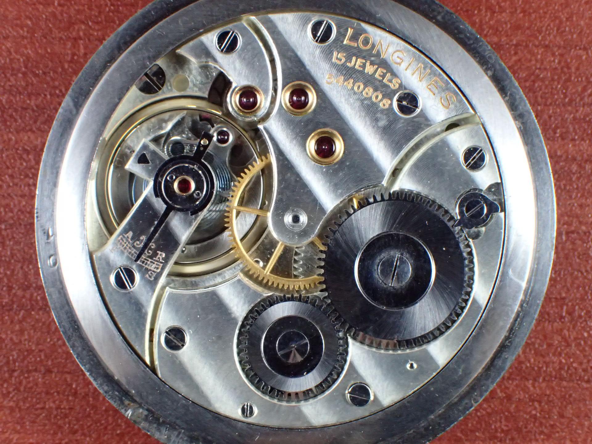 ロンジン ポケットウォッチ セクターダイアル 1930年代の写真5枚目