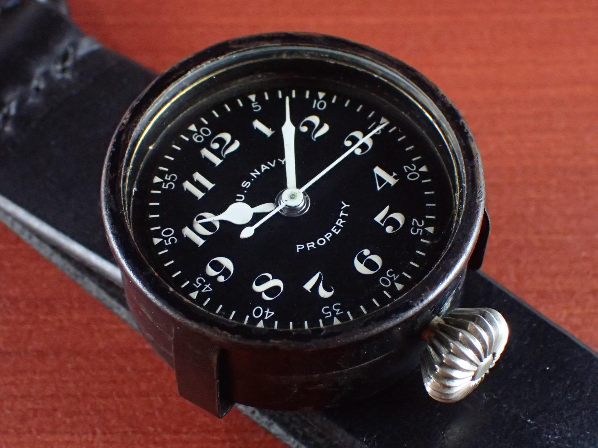 エルジン 米海軍 偵察カメラ用時計 第二次世界大戦 1940年代のメイン写真