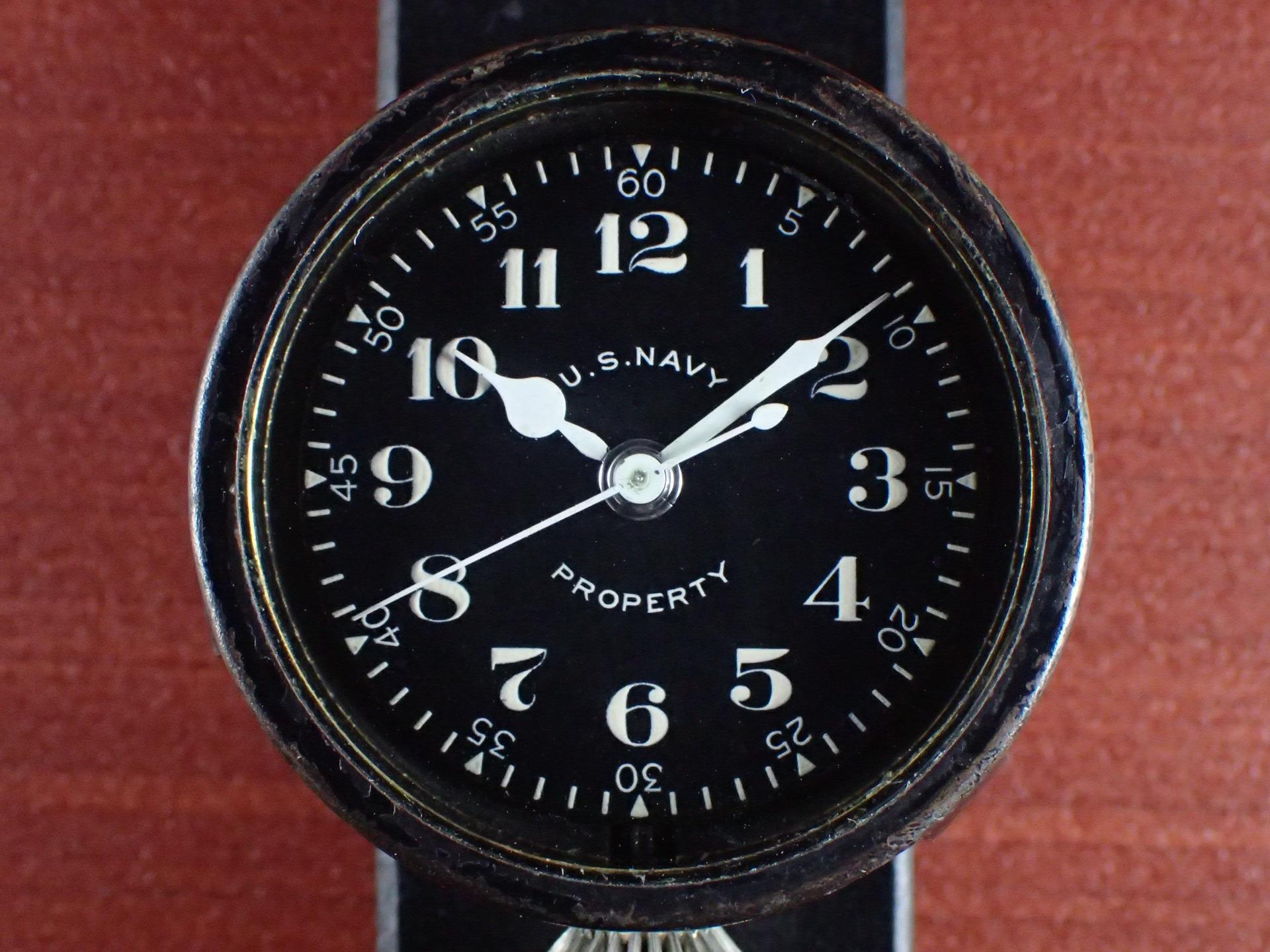 エルジン 米海軍 偵察カメラ用時計 第二次世界大戦 1940年代の写真2枚目