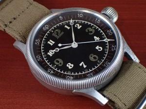 精工舎 旧日本海軍航空隊 天測時計 太平洋戦争 1940年代