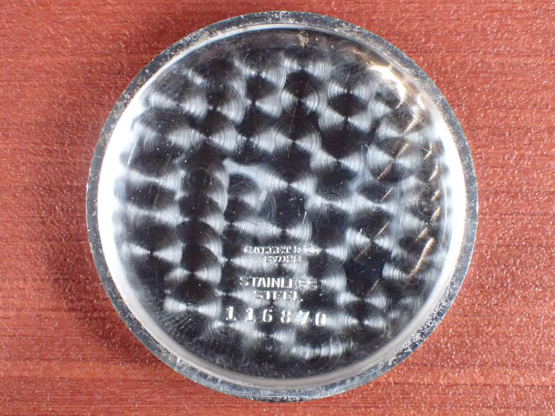 ギャレット クロノグラフ Cal.Venus150 ホワイトダイアル 1940年代の写真6枚目