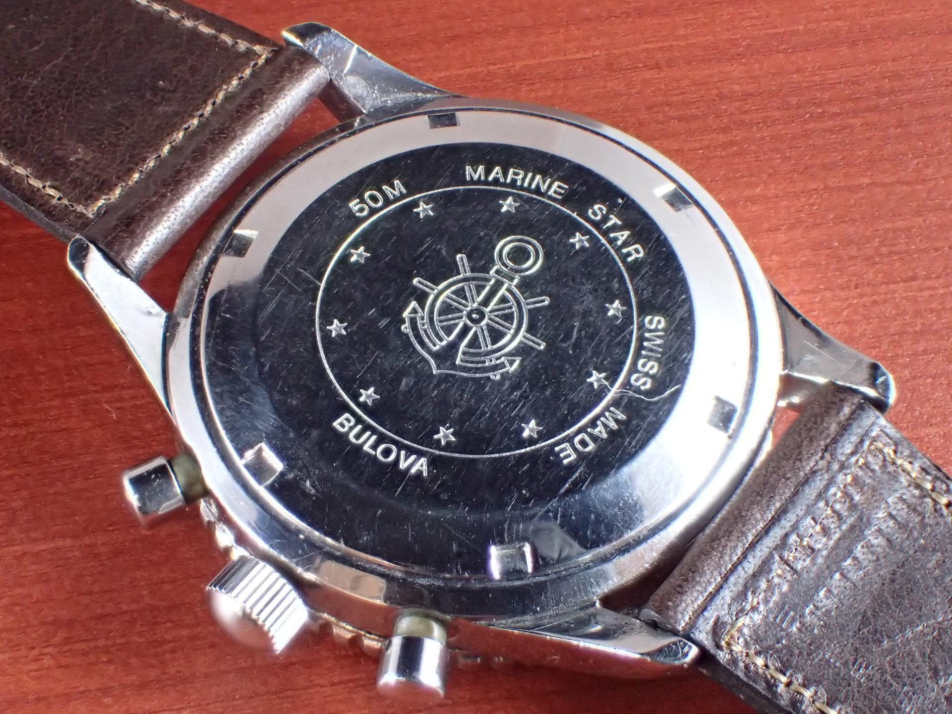 ブローバ マリンスター クロノグラフ Cal.Valjoux7731 1970年代の写真4枚目