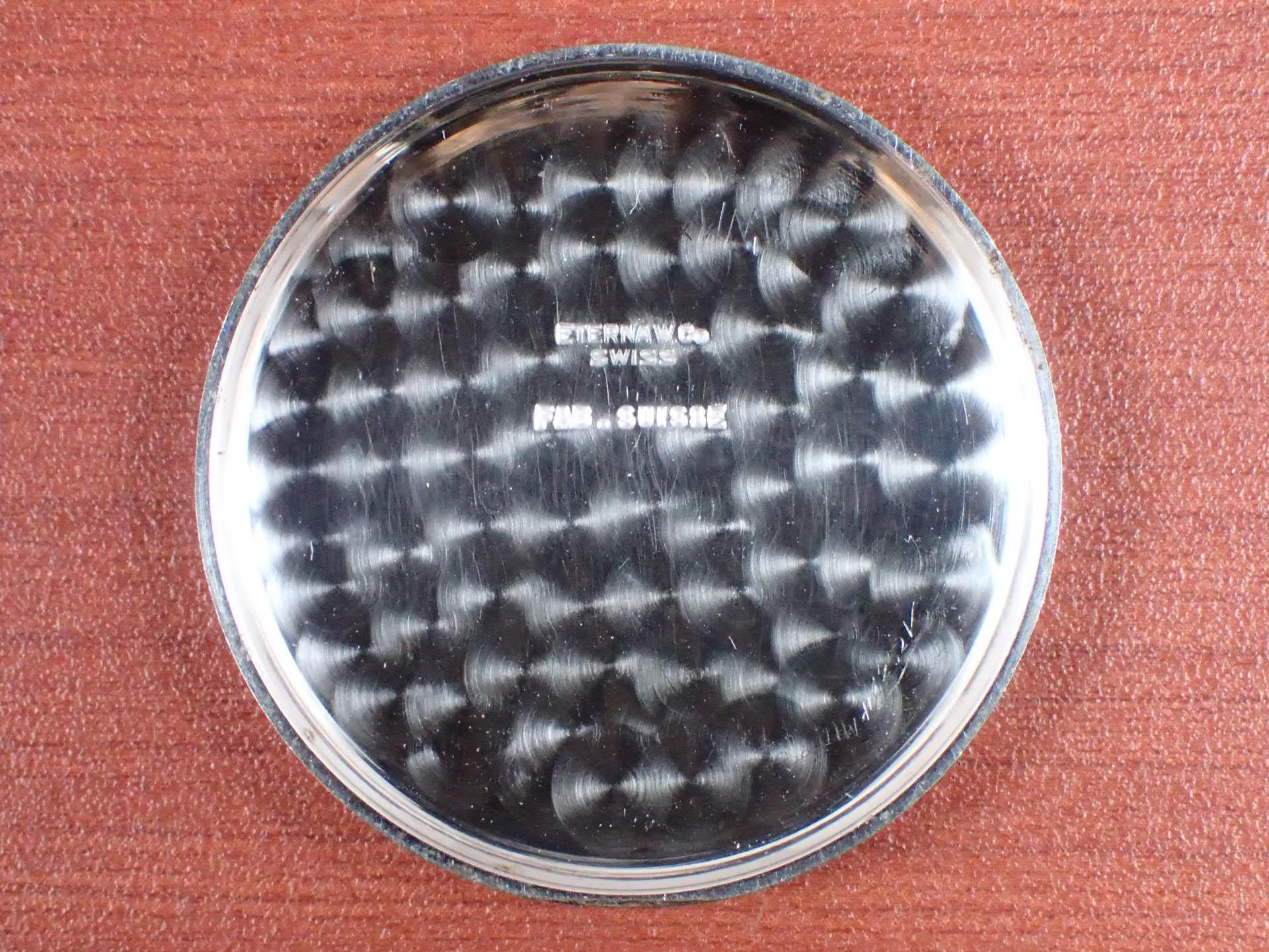 エテルナ クロノグラフ Cal.Valjoux22 シリンダーケース 1930年代の写真6枚目