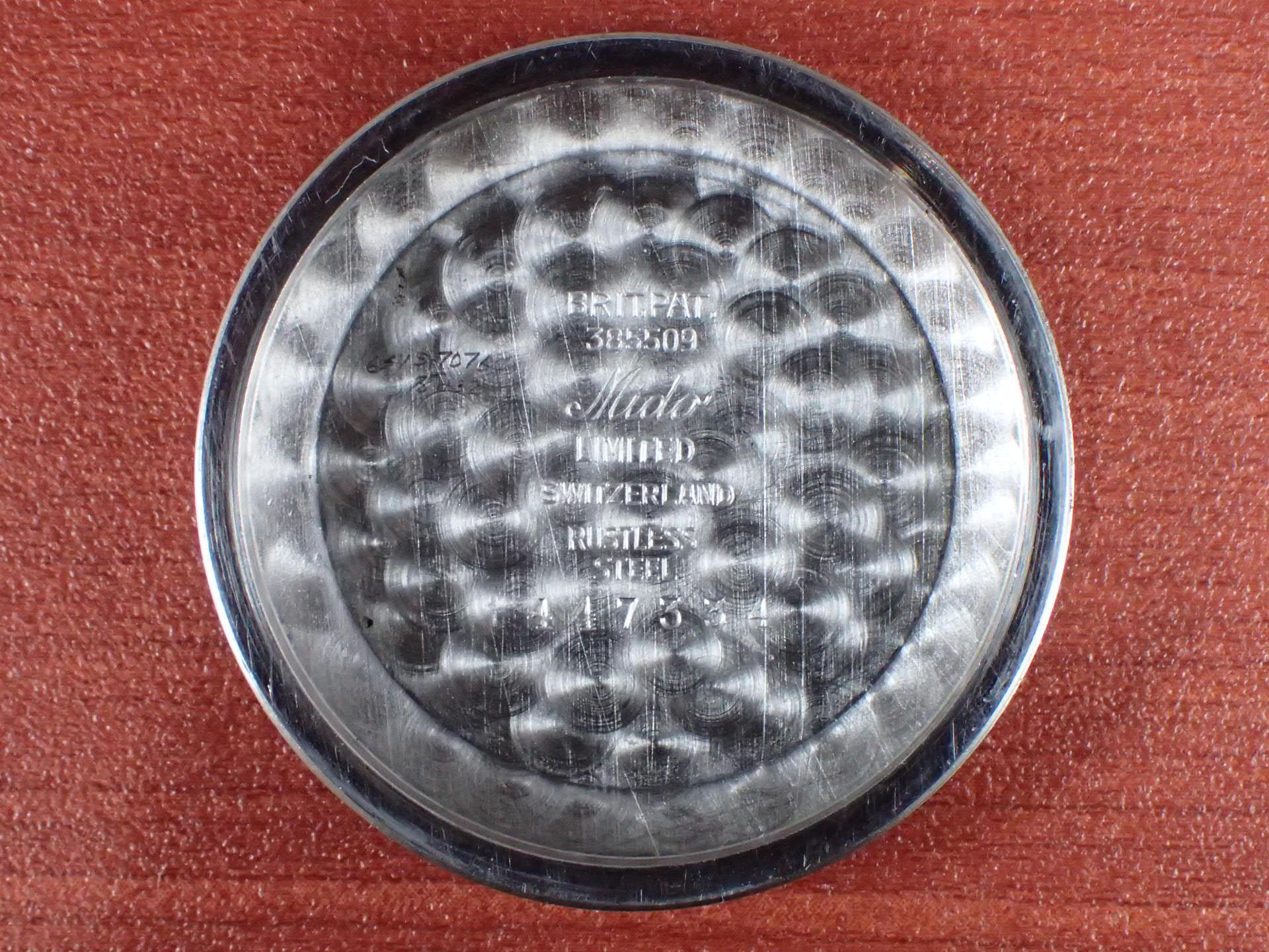 ミドー マルチフォート ラージケース 34mm 2トーンダイアル 1940年代の写真6枚目