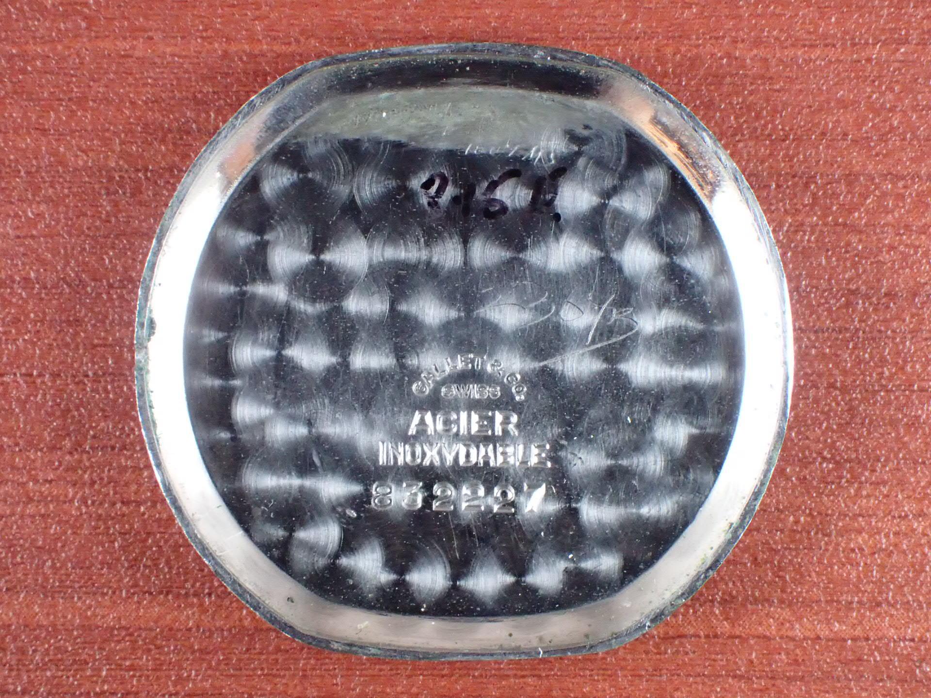 ギャレット ベビークロノグラフ オーバル型 エクセルシオパークCal.42 1940年代の写真6枚目