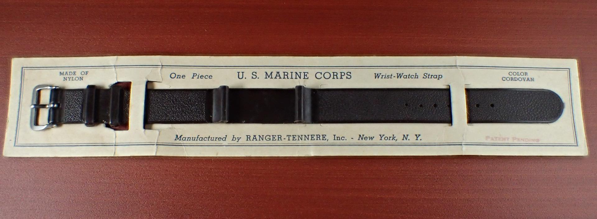 米軍 ナイロン無垢ベルト N.O.S. ワンピースタイプ 1950年代
