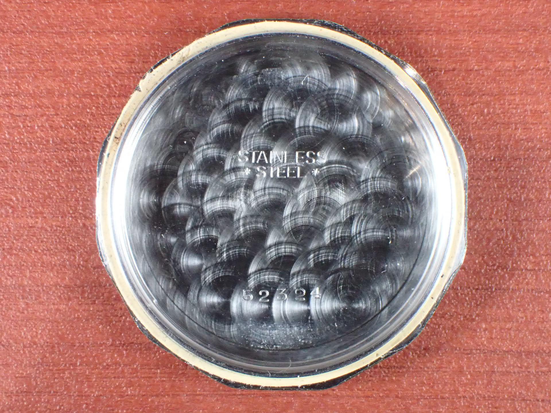 ホイヤー クロノグラフ Cal.ランデロン13 ホワイトダイアル 1940年代の写真6枚目