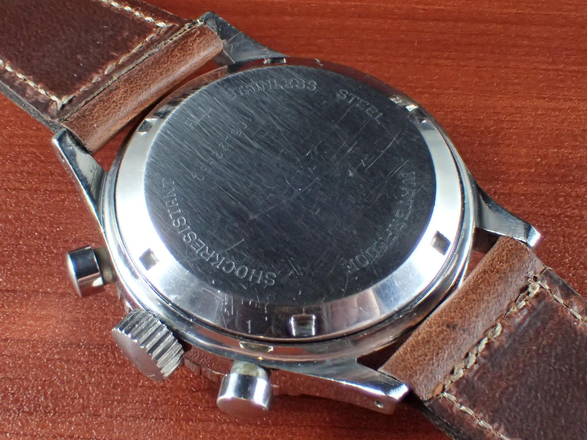 ニバダ クロノマスター クロノグラフ バルジュー92 1960年代の写真4枚目