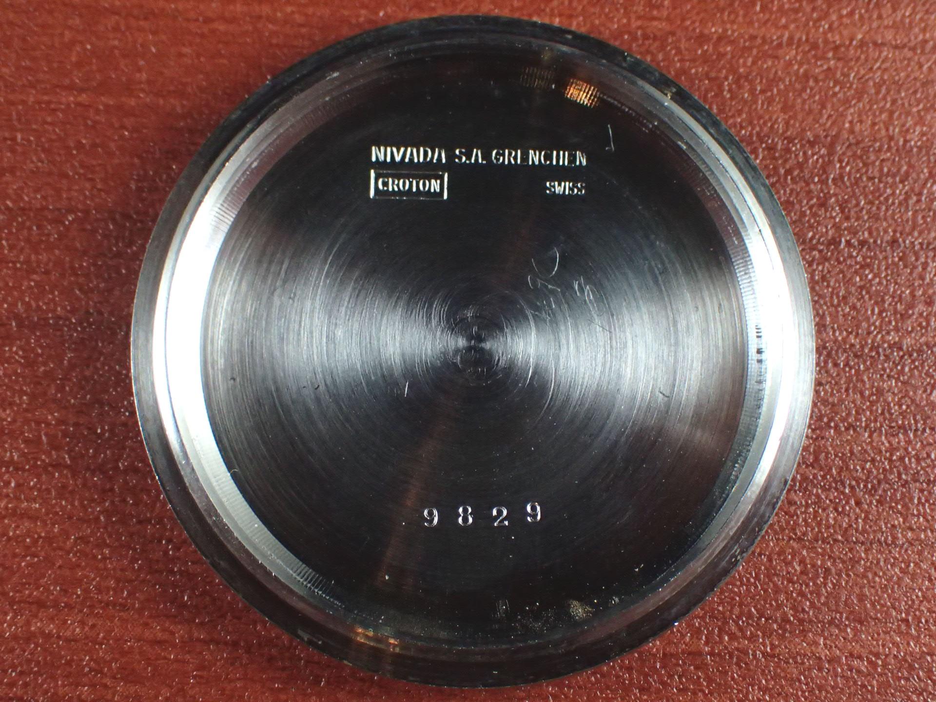 ニバダ クロノマスター クロノグラフ バルジュー92 1960年代の写真6枚目