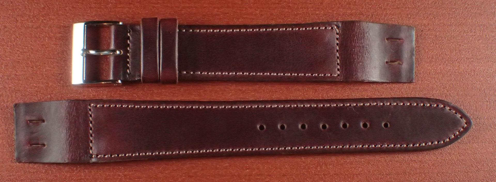 ホーウィン クロムエクセル オープンエンド バーガンディ 16、18、20mm