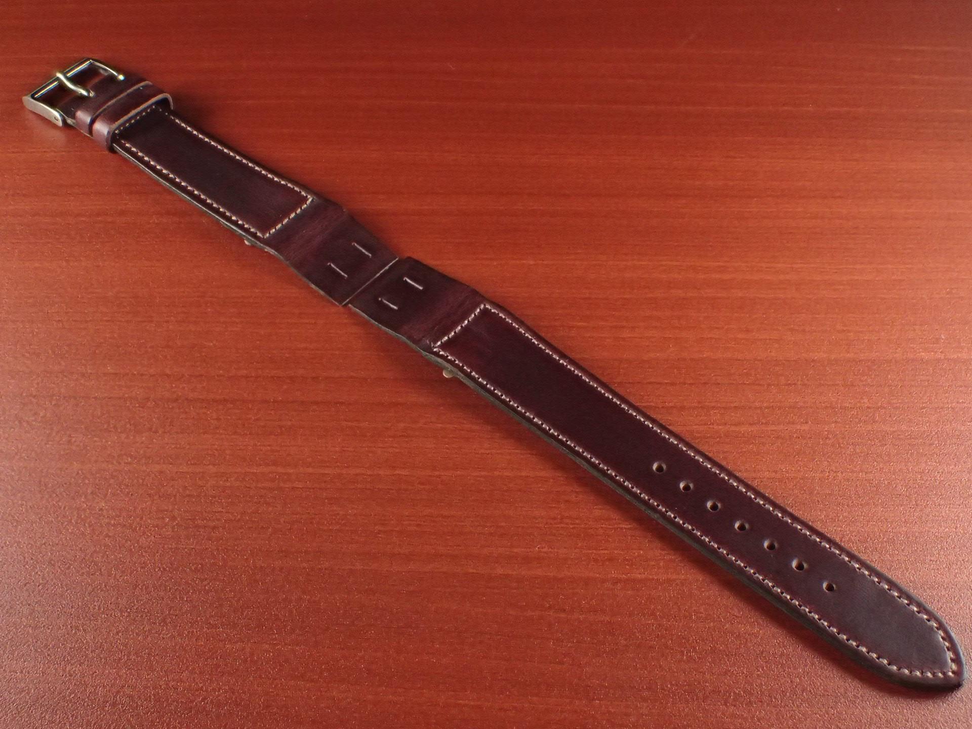 ホーウィン クロムエクセル オープンエンド バーガンディ 16、18、20mmのメイン写真
