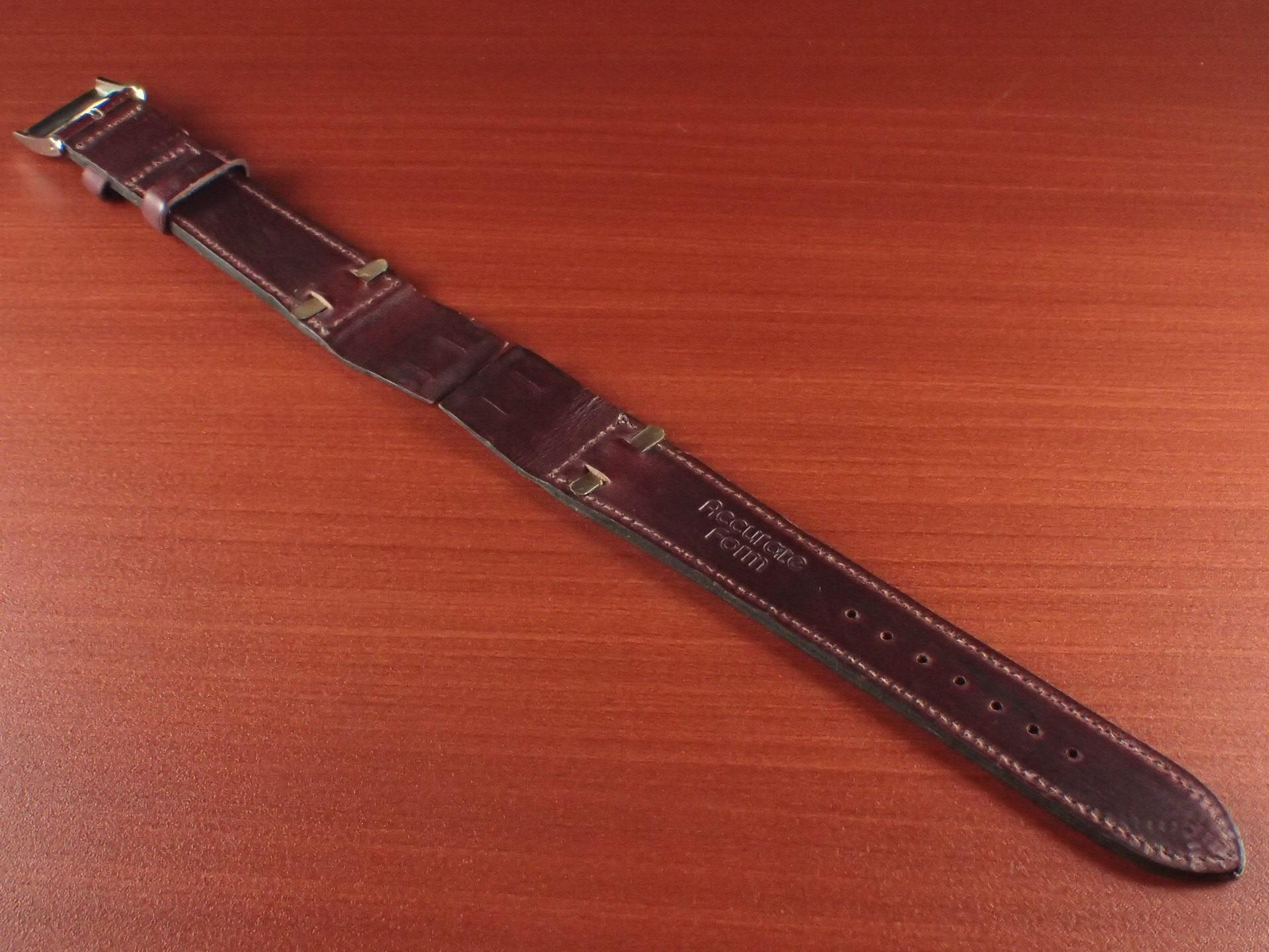ホーウィン クロムエクセル オープンエンド バーガンディ 16、18、20mmの写真2枚目