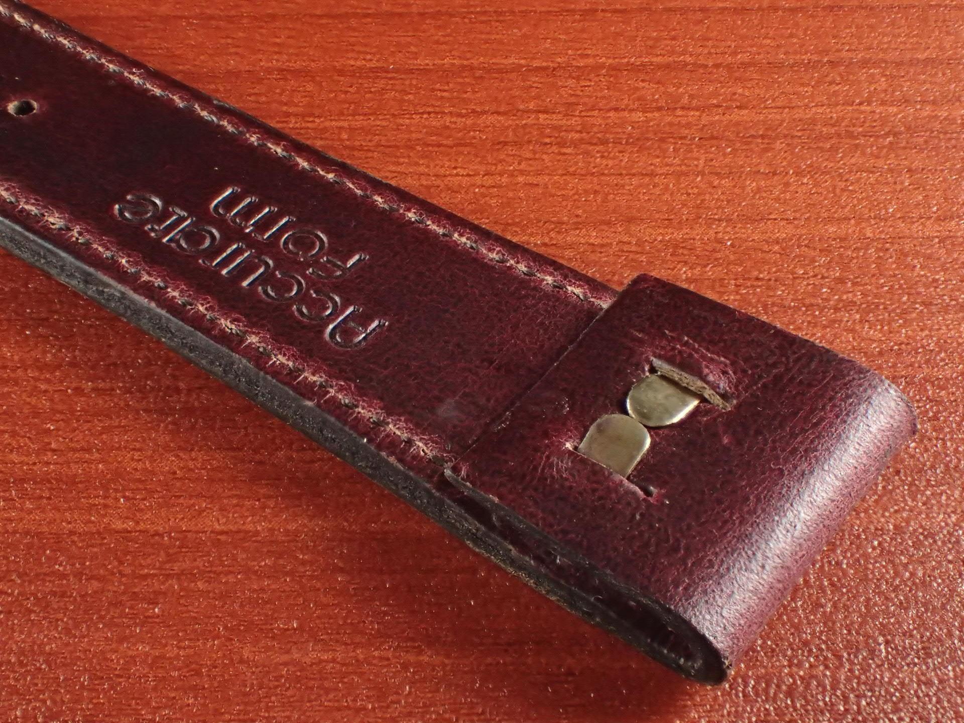 ホーウィン クロムエクセル オープンエンド バーガンディ 16、18、20mmの写真5枚目