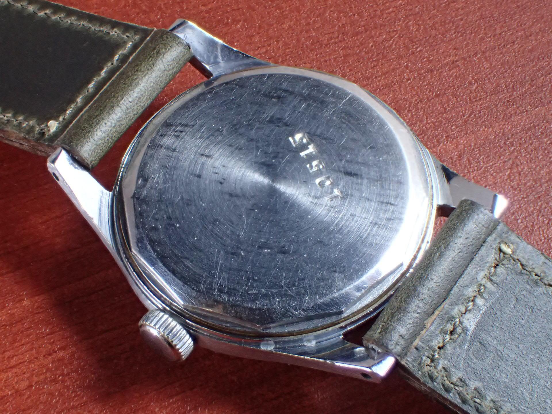 ミネルバ キャリバー49 2トーンダイアル スクリューバック 1940年代の写真4枚目