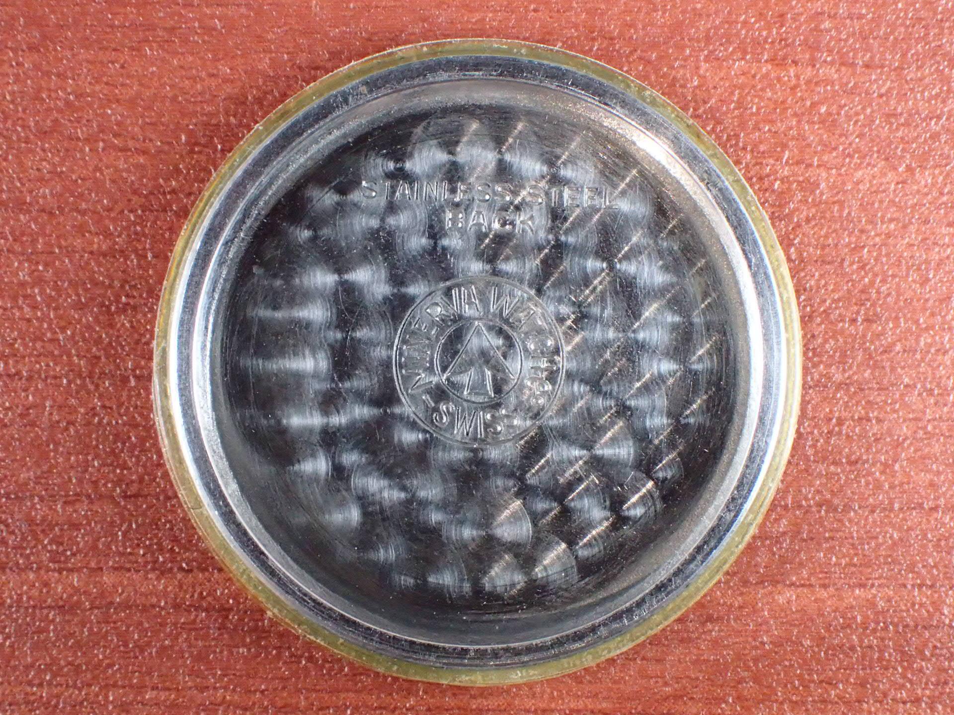 ミネルバ キャリバー49 2トーンダイアル スクリューバック 1940年代の写真6枚目