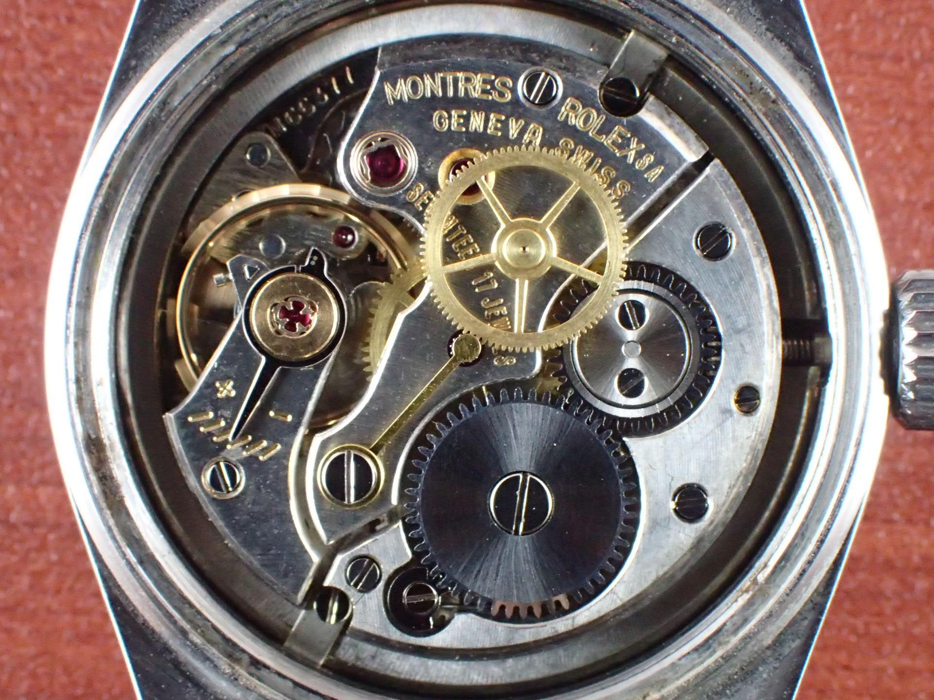 ロレックス オイスターロイヤル Ref.6444 テキスタイルダイアル 1950年代の写真5枚目
