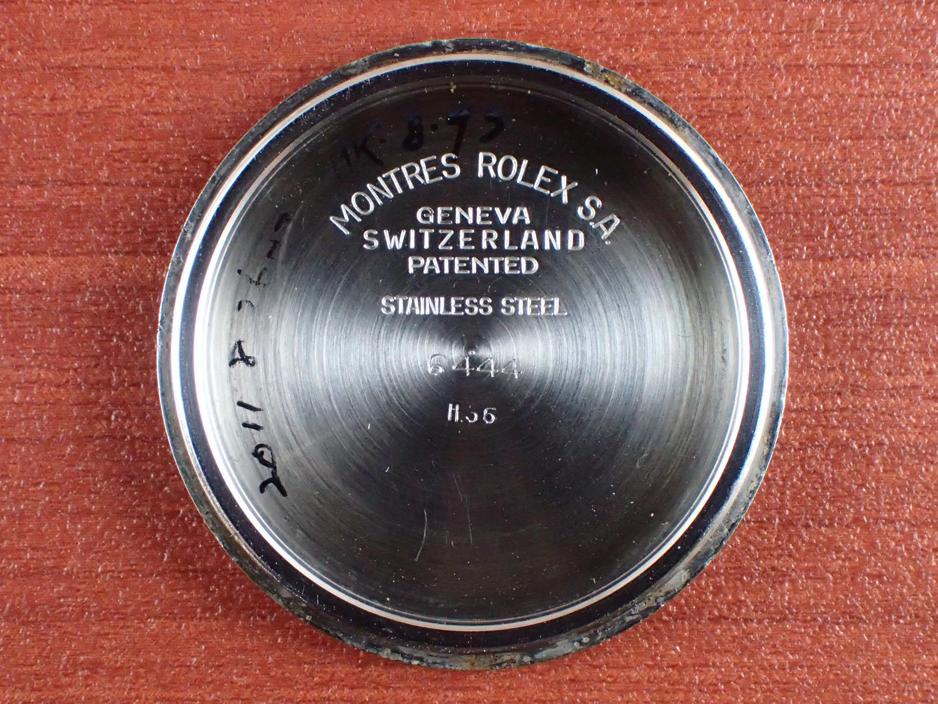 ロレックス オイスターロイヤル Ref.6444 テキスタイルダイアル 1950年代の写真6枚目