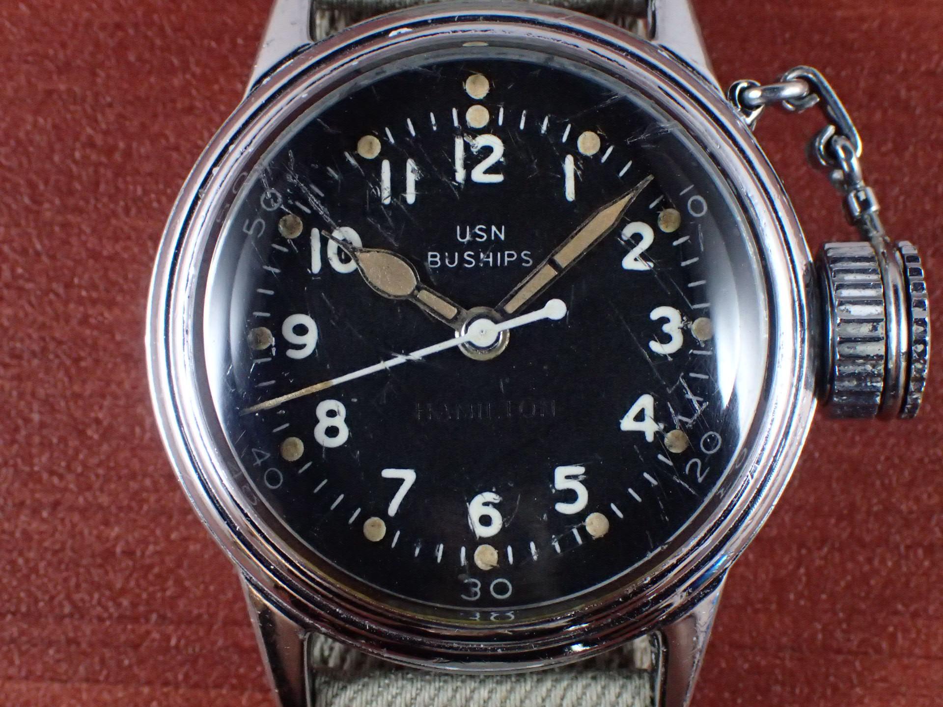 ハミルトン USN BUSHIPS キャンティーン UDT 水中爆破チーム 1940年代の写真2枚目