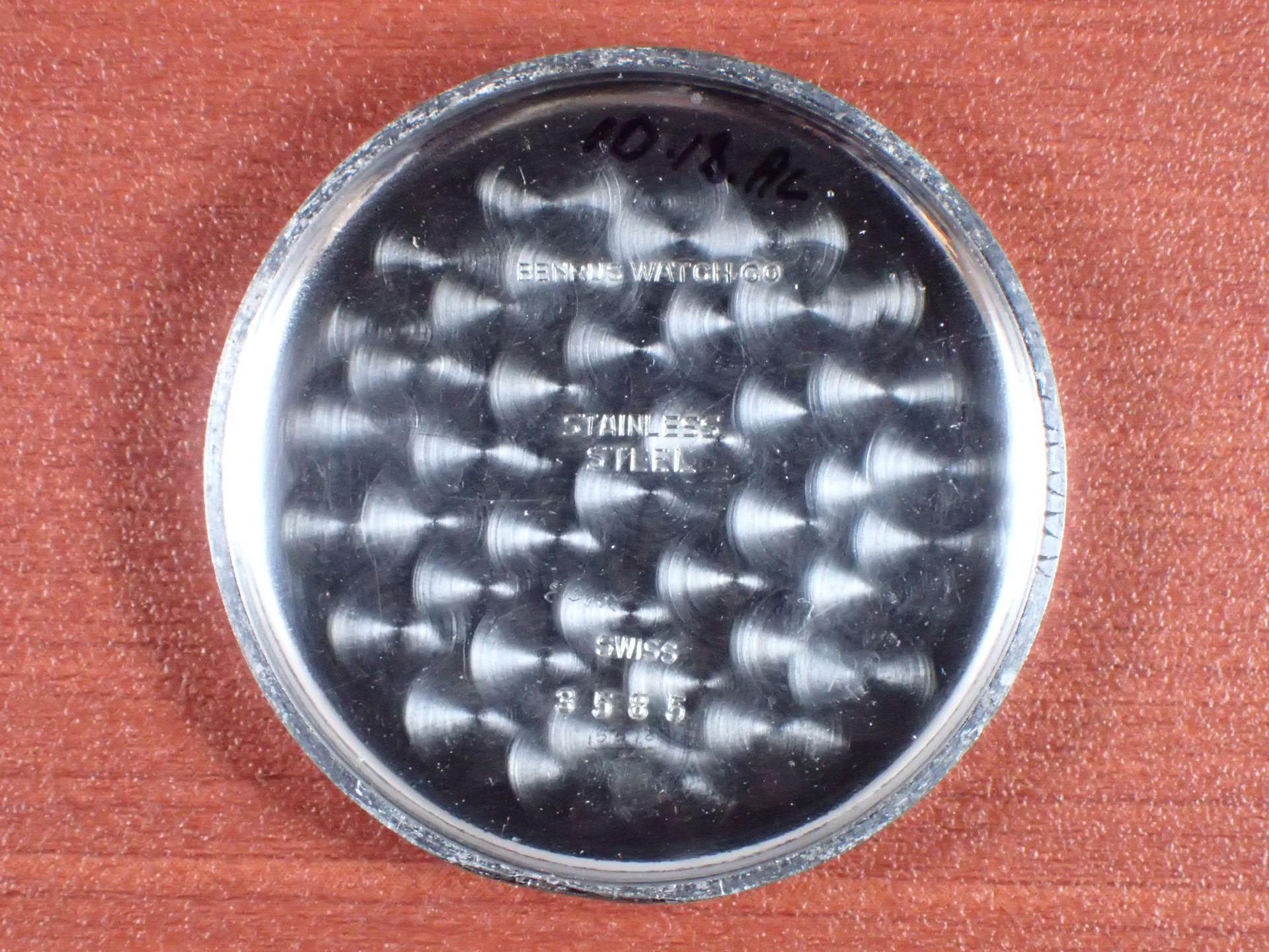 ベンラス スカイチーフ Cal.Venus178 ブラックミラーダイアル 1940年代の写真6枚目