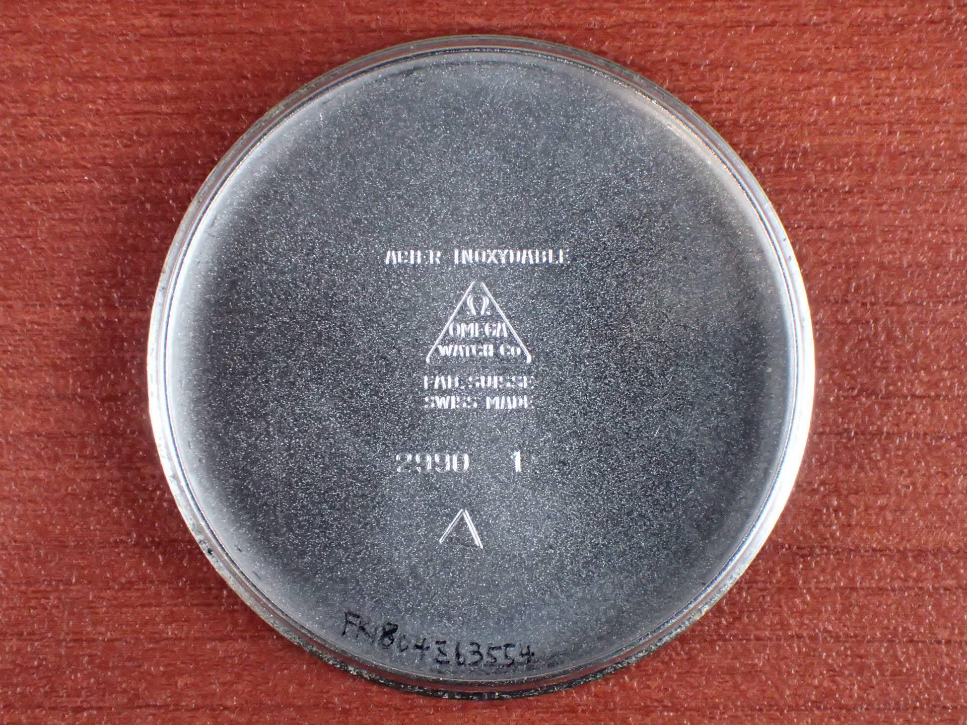 オメガ ランチェロ ブラックダイアル Ref.2990-1 1950年代の写真6枚目