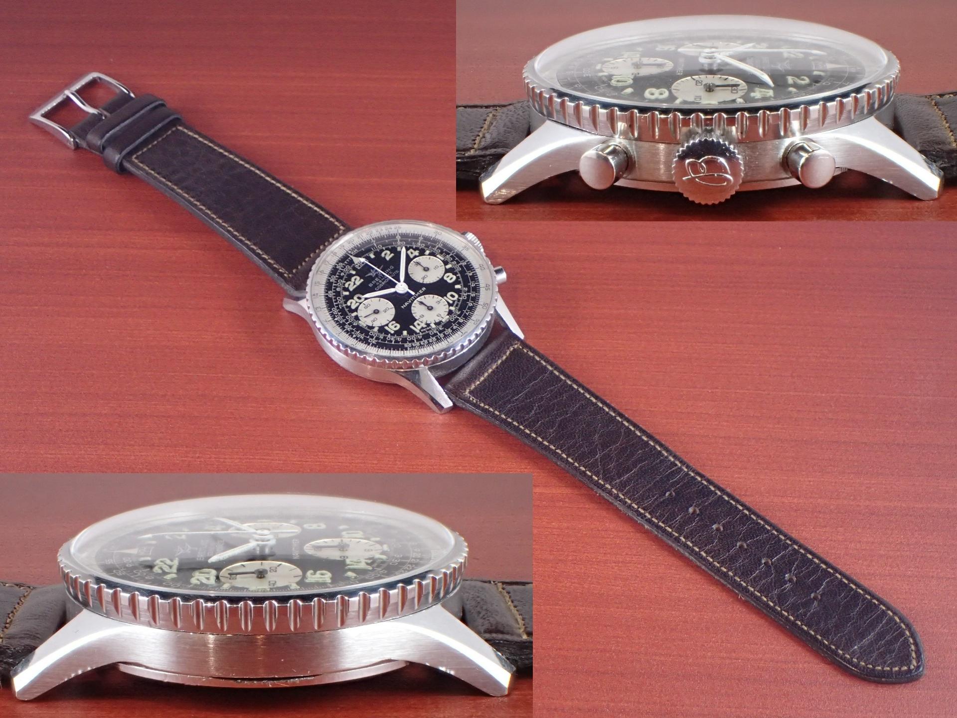 ブライトリング コスモノート ナビタイマー Ref.809 24時間時計 1960年代の写真3枚目