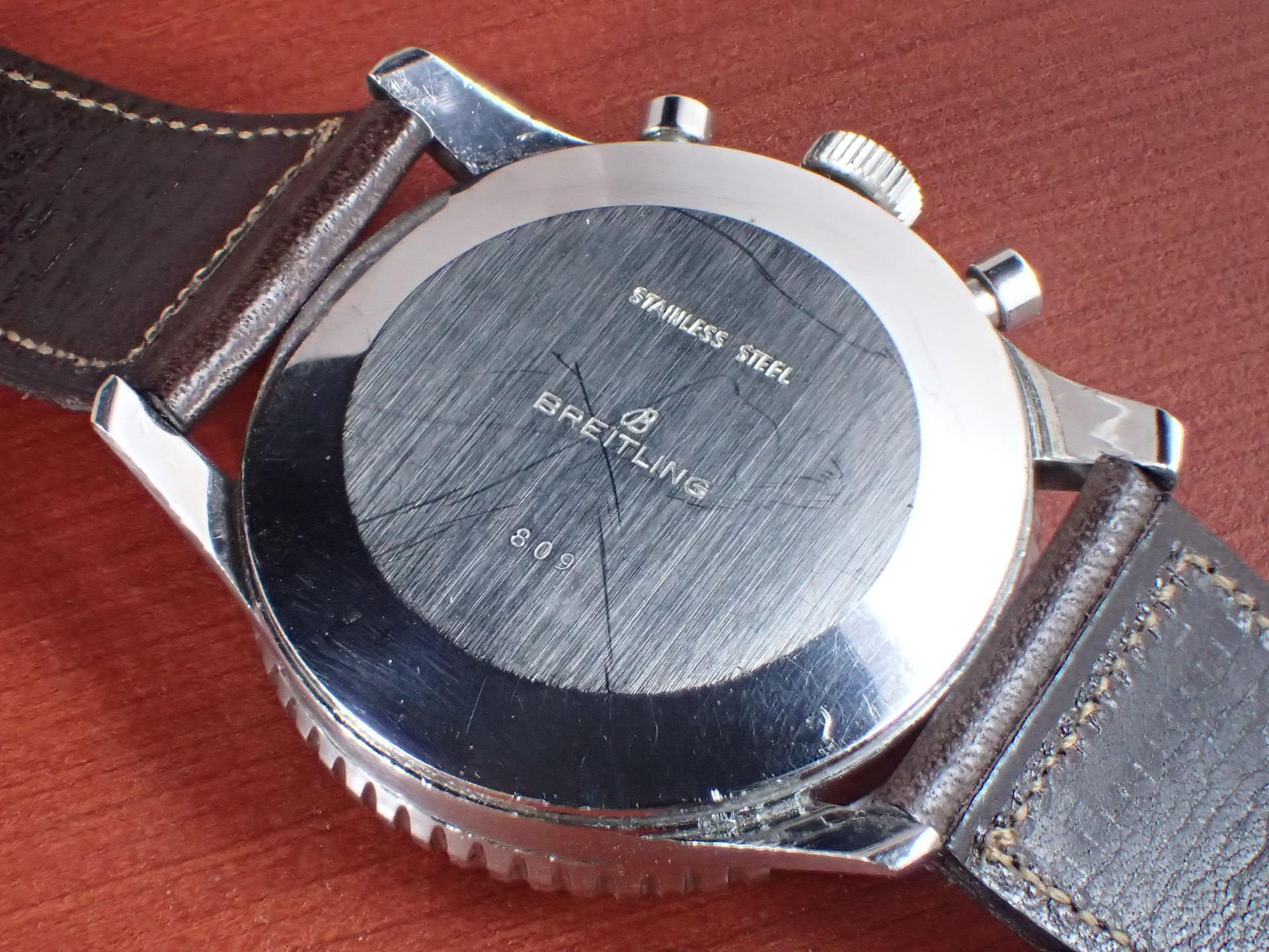 ブライトリング コスモノート ナビタイマー Ref.809 24時間時計 1960年代の写真4枚目