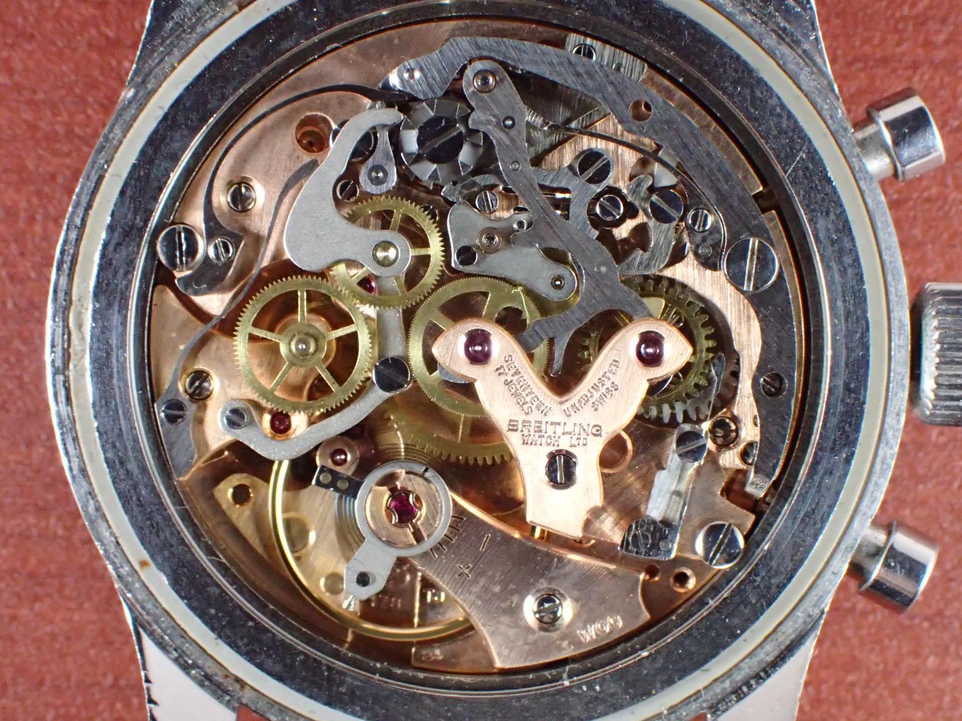 ブライトリング コスモノート ナビタイマー Ref.809 24時間時計 1960年代の写真5枚目