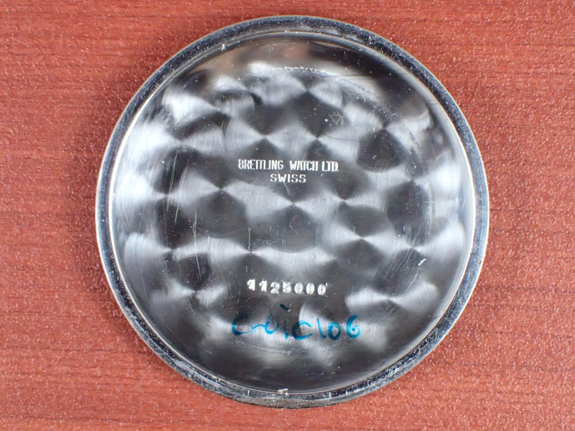 ブライトリング コスモノート ナビタイマー Ref.809 24時間時計 1960年代の写真6枚目