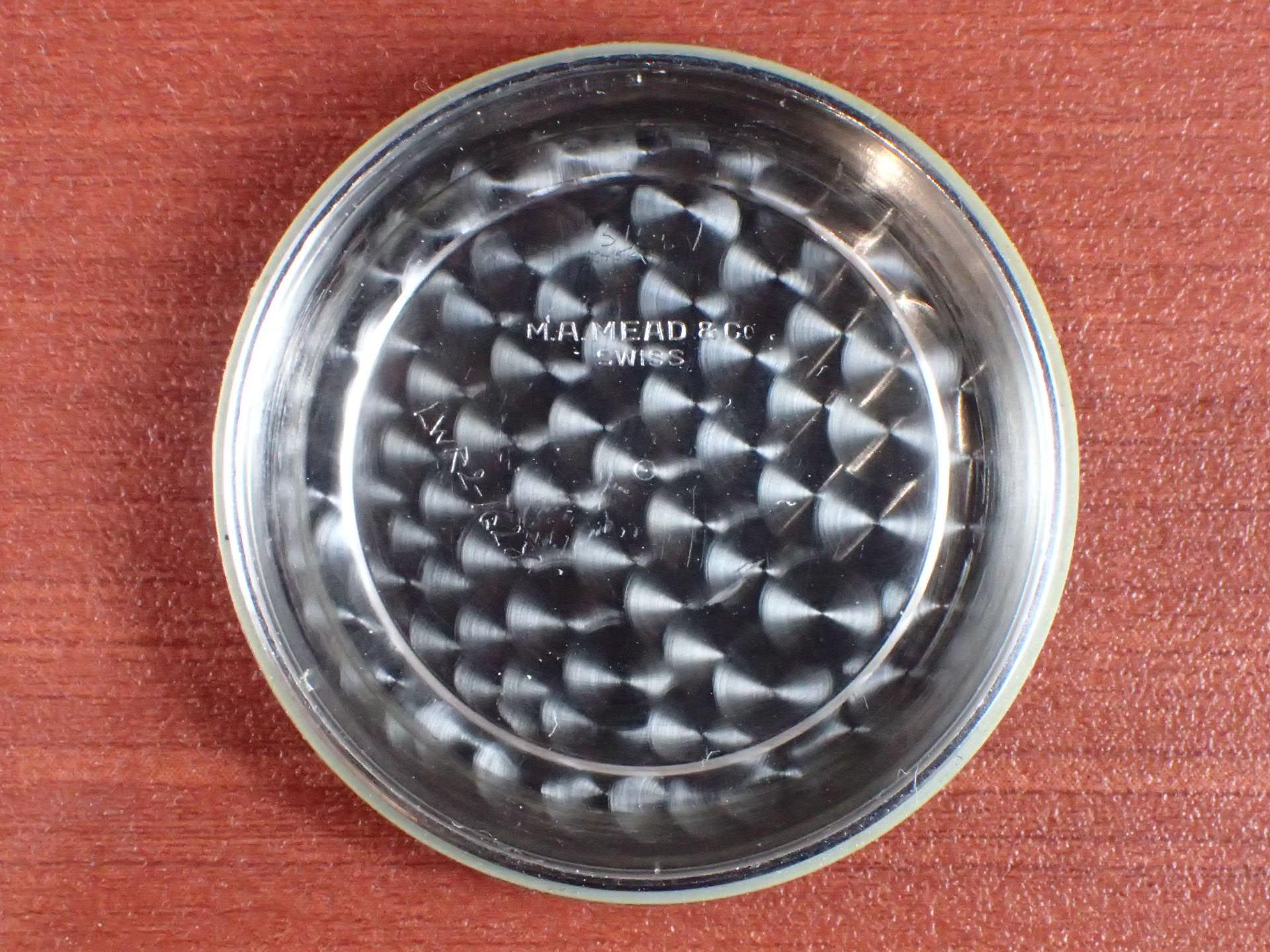 ブールバード クロノグラフ バルジュー22 2トーンダイアル 1940年代の写真6枚目