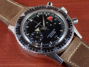 クロトン クロノマスター シーダイバー クロノグラフ バルジュー23 1960年代