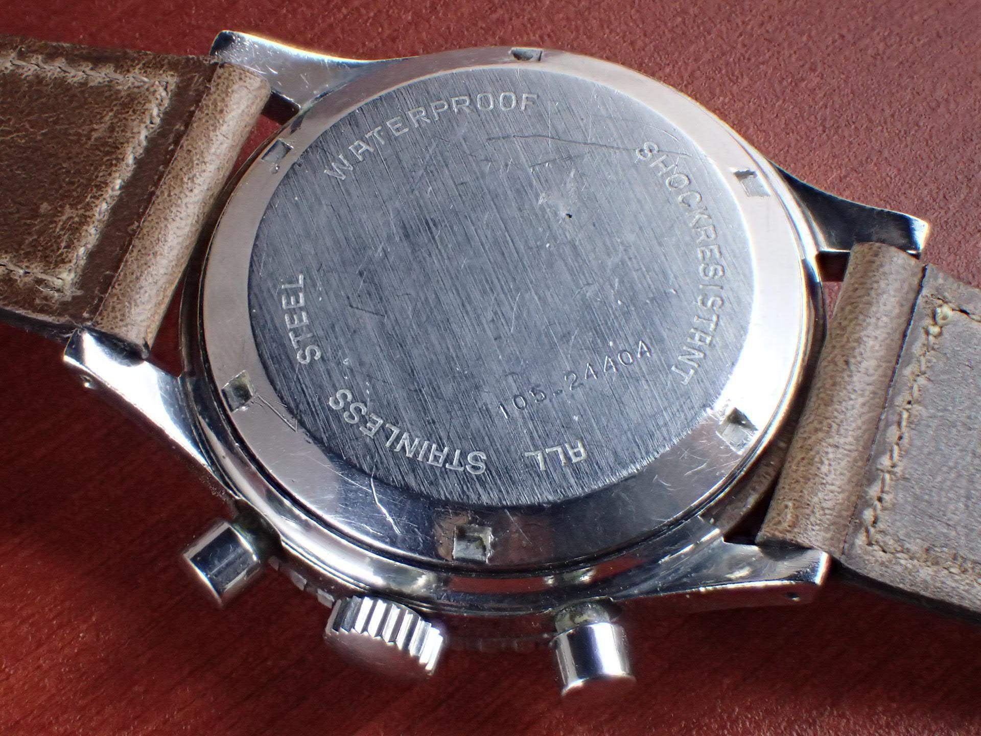 クロトン クロノマスター シーダイバー クロノグラフ バルジュー23 1960年代の写真4枚目