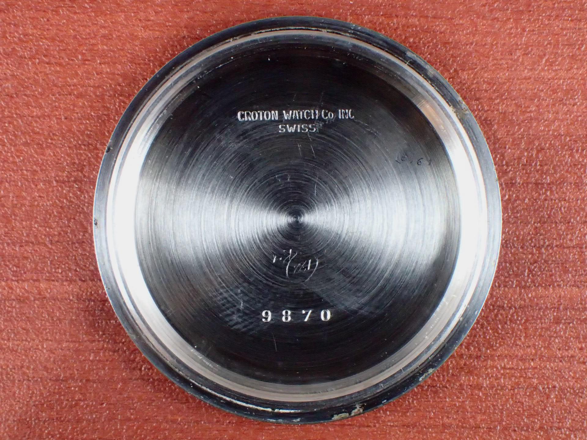 クロトン クロノマスター シーダイバー クロノグラフ バルジュー23 1960年代の写真6枚目