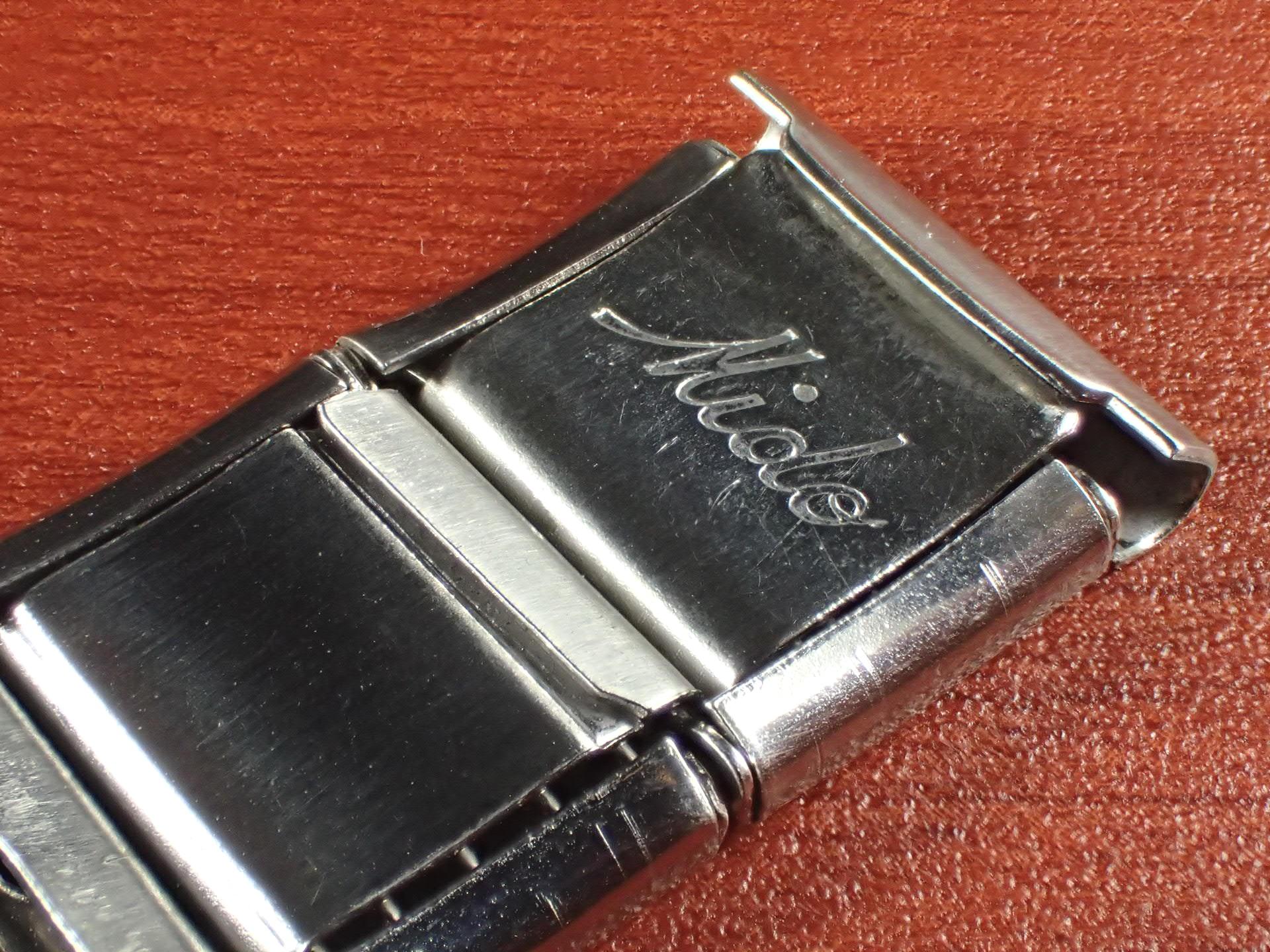 ミドー エクステンションブレスレット NOS 取付幅16mm SS 1950年代の写真3枚目