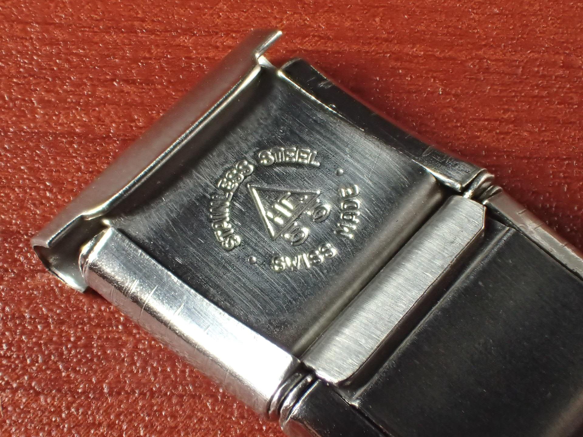 ミドー エクステンションブレスレット NOS 取付幅16mm SS 1950年代の写真4枚目