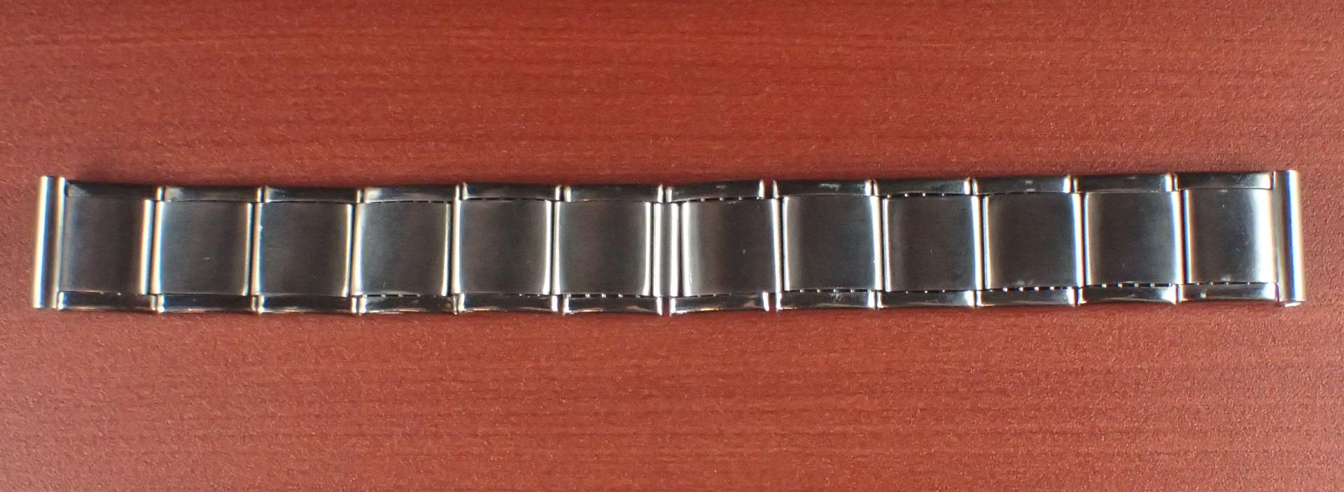 ミドー エクステンションブレスレット NOS 取付幅16mm SS 1950年代