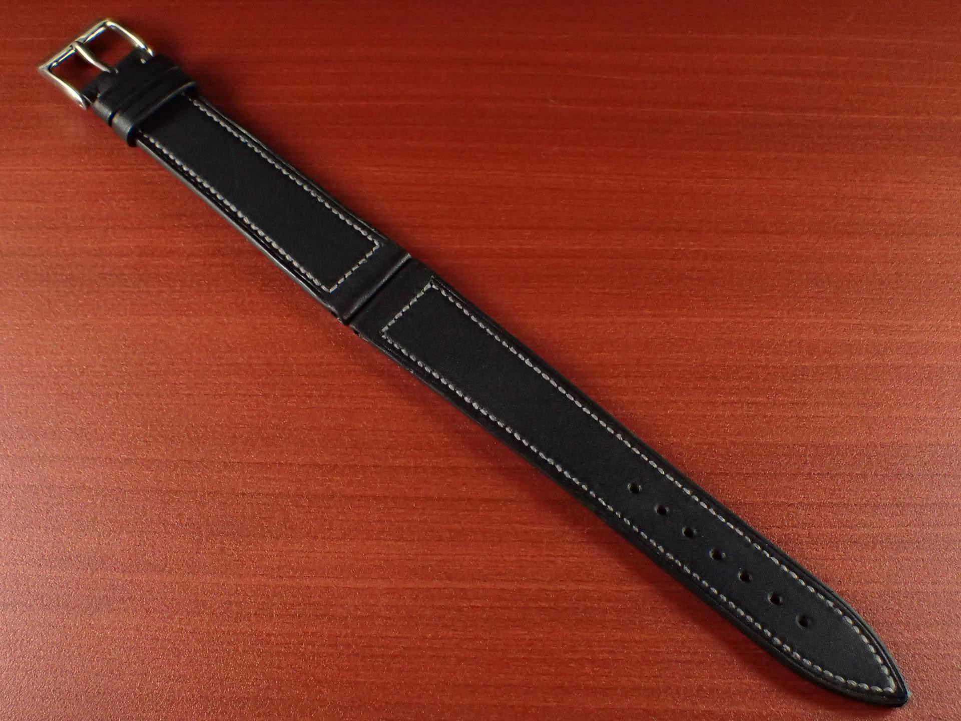 ジャン・クロード ペラン革ベルト カーフ ブラック 16、17、18、19、20mmのメイン写真