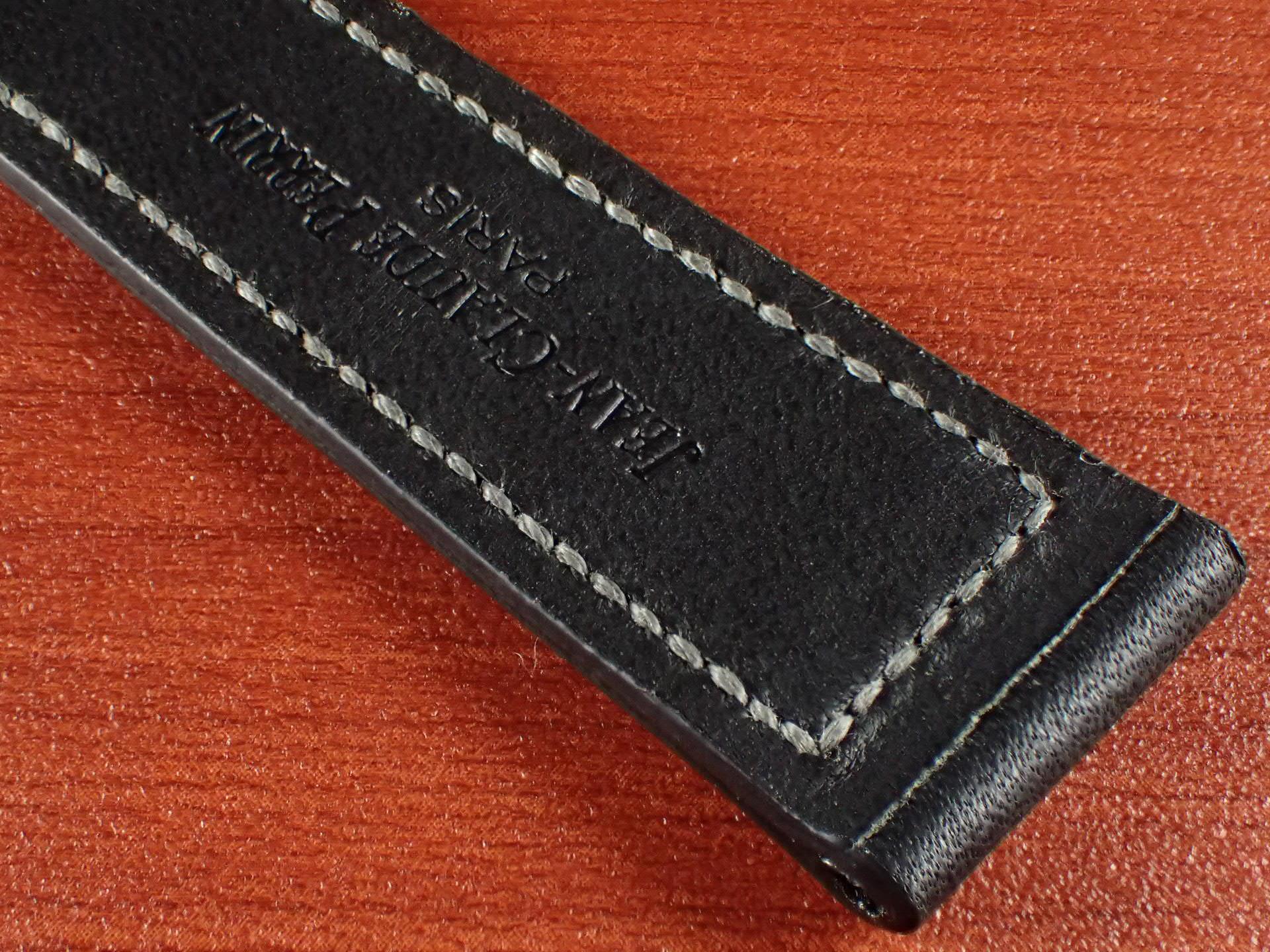 ジャン・クロード ペラン革ベルト カーフ ブラック 16、17、18、19、20mmの写真6枚目