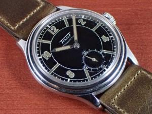 ティソ セクターデザイン Cal.27 ブラックダイアル 1930年代
