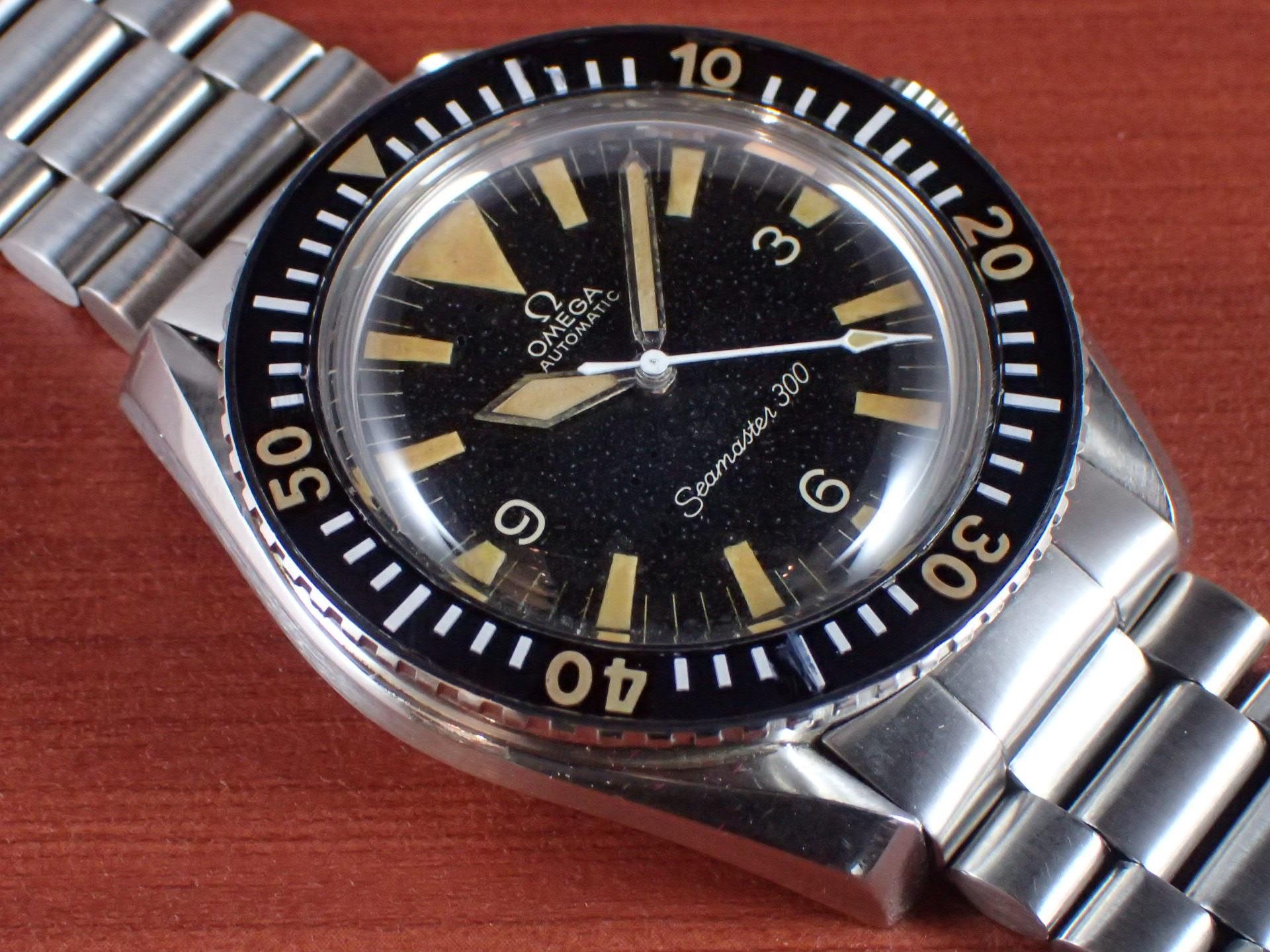 オメガ シーマスター300 ビッグトライアングル Ref.165.024 1960年代のメイン写真