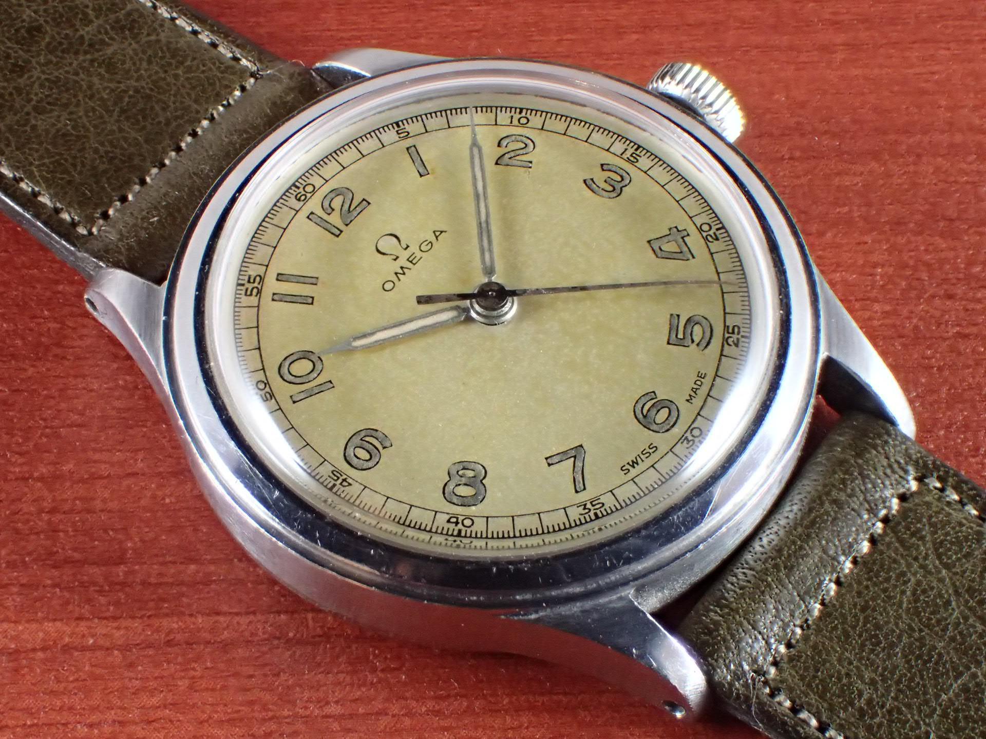 オメガ 30mmキャリバー Ref.2179-4 ホワイトダイアル 1940年代のメイン写真