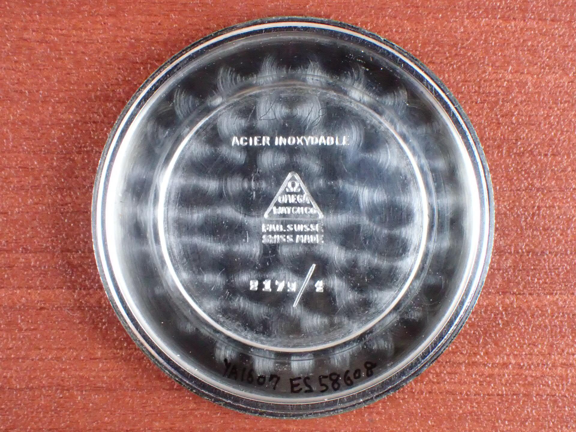 オメガ 30mmキャリバー Ref.2179-4 ホワイトダイアル 1940年代の写真6枚目
