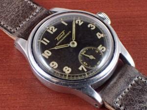 ティソ キャリバー27-3 ブラックダイアル スモールセコンド 1940年代