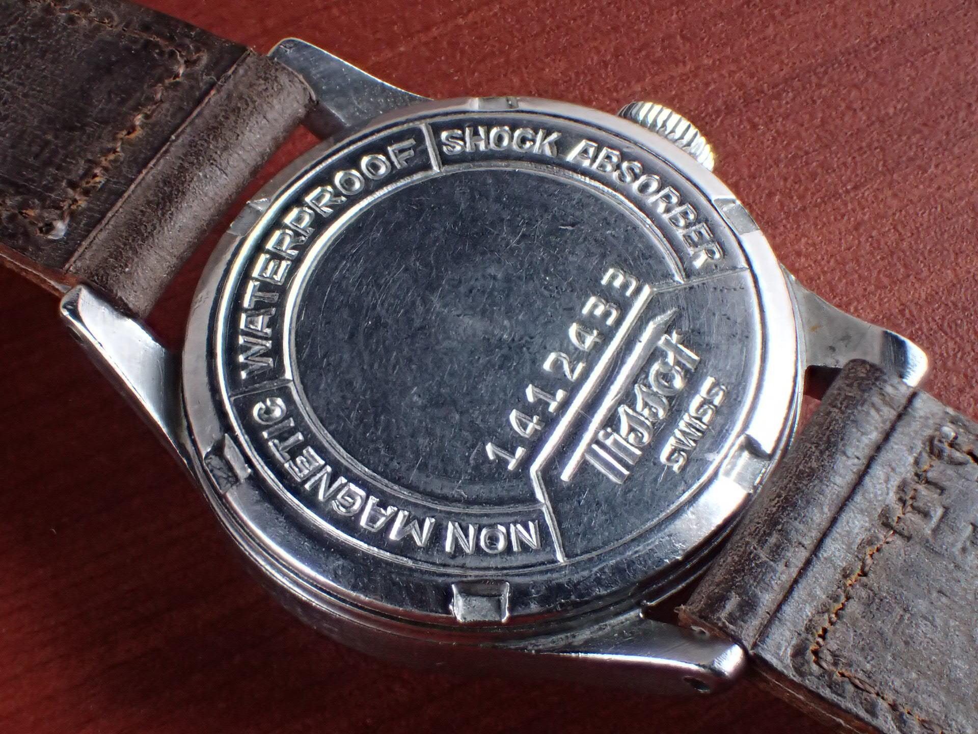 ティソ キャリバー27-3 ブラックダイアル スモールセコンド 1940年代の写真4枚目