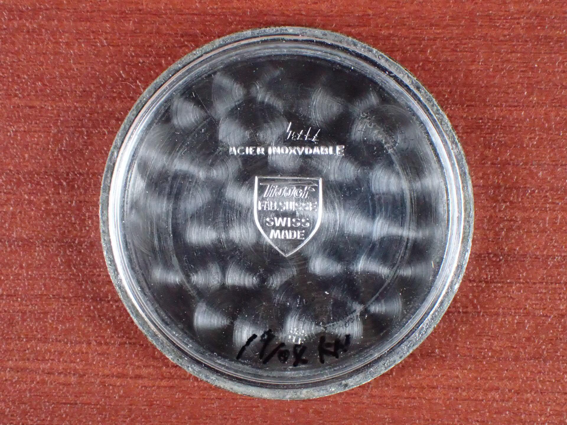 ティソ キャリバー27-3 ブラックダイアル スモールセコンド 1940年代の写真6枚目
