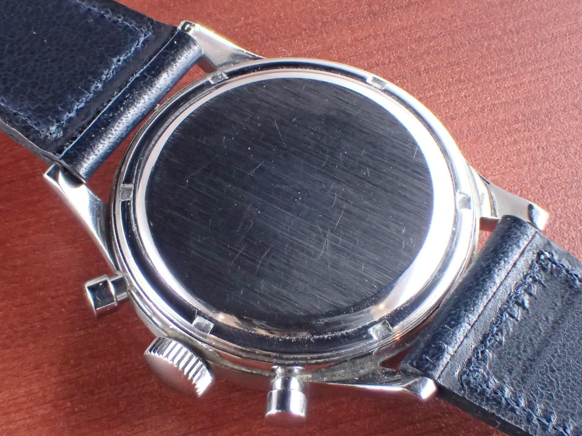 エクセルシオパーク クロノグラフ キャリバー4 シルバーマットDL 1960年代の写真4枚目
