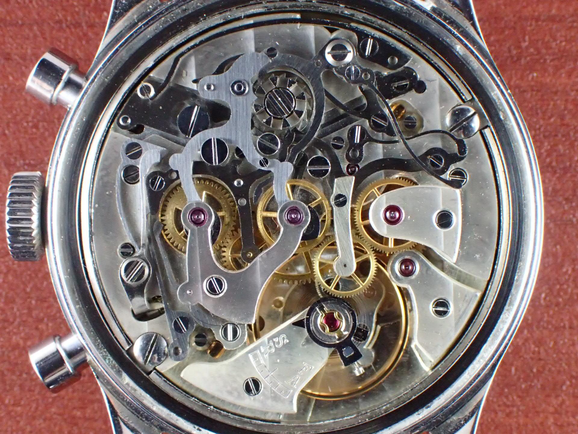 エクセルシオパーク クロノグラフ キャリバー4 シルバーマットDL 1960年代の写真5枚目