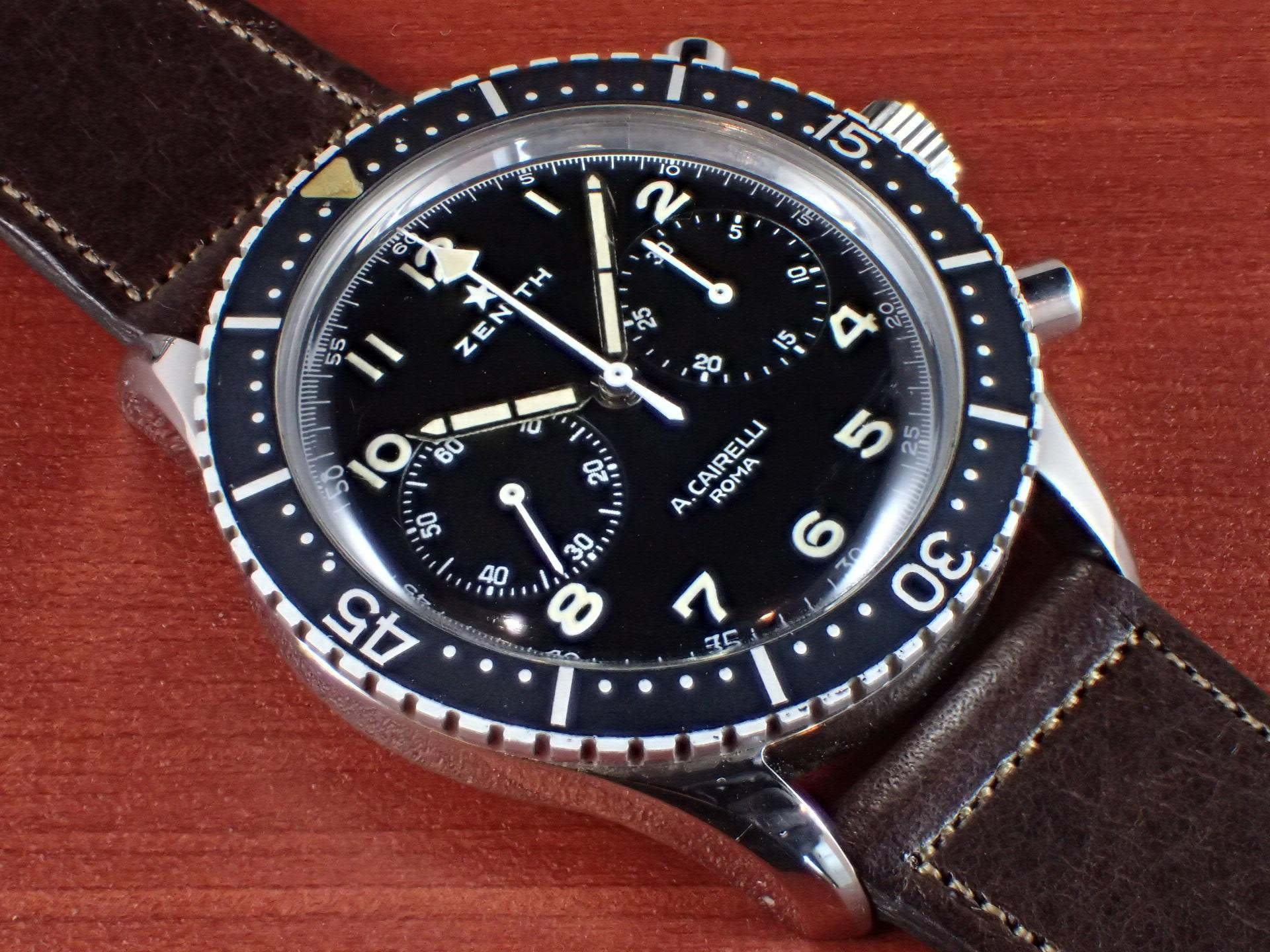 ゼニス イタリア空軍 クロノグラフ TIPO CP-2 未支給品 1960年代のメイン写真