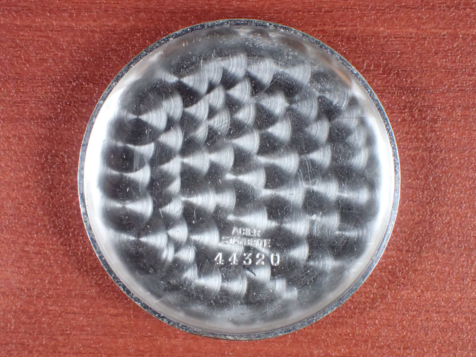 レマニア クロノグラフ Cal.15TL ブラックダイアル 1940年代の写真6枚目