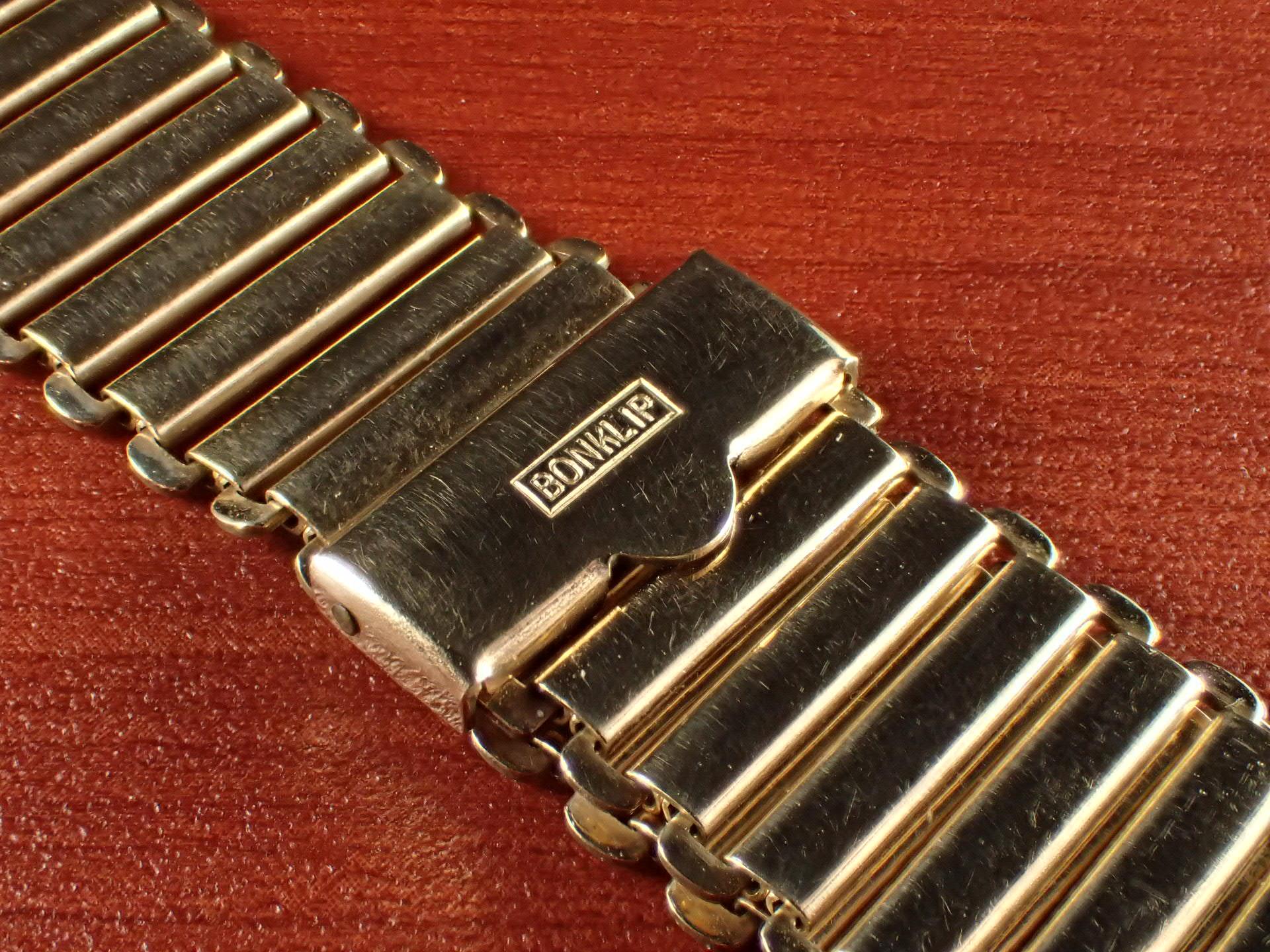 ボンクリップ バンブーブレス NOS リンク16mm 取付18mm YGF 1940年代の写真2枚目