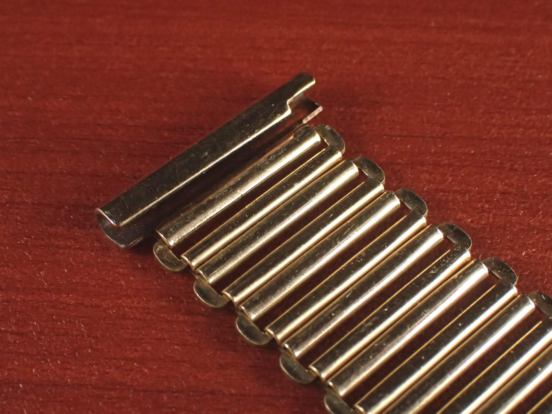 ボンクリップ バンブーブレス NOS リンク16mm 取付18mm YGF 1940年代の写真5枚目